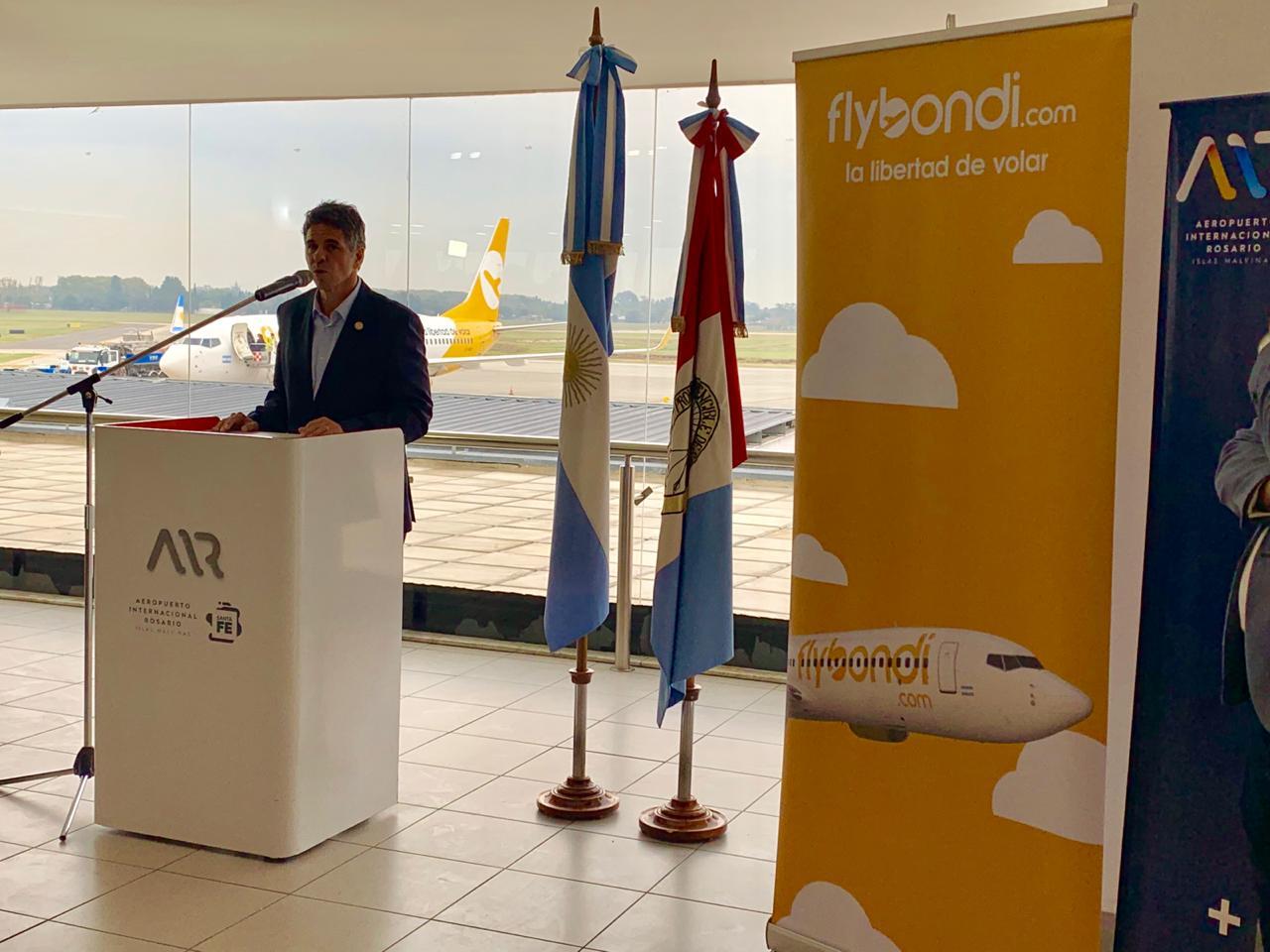 Rosario ya vuela a 3 provincias con precios ultra low cost