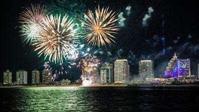 Celebración de los 22 años del hotel casino de Punta del Este