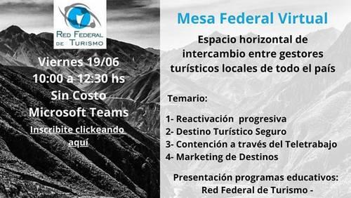 Importante reunión virtual de municipios turísticos