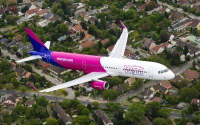 WIZZ AIR anunció nuevas rutas internacionales desde España