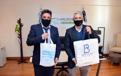 Rosario firmó un convenio de colaboración turística con Bariloche